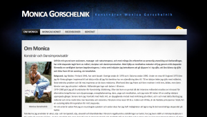 Monica Gorschelnik - Konstnär
